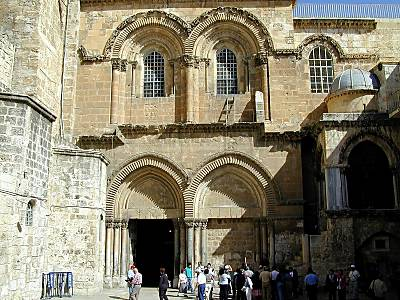Church of Holy Sepulcher entrance
