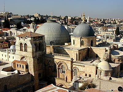 Church of Holy Sepulcher from Lutheran Tower