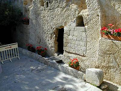 jesus tomb closed. Garden Tomb