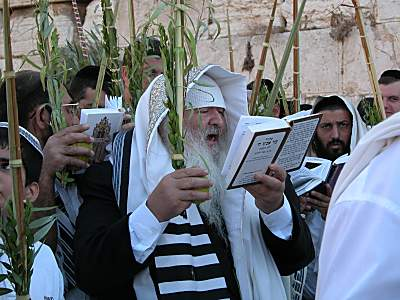 Sukkot Priestly Blessing
