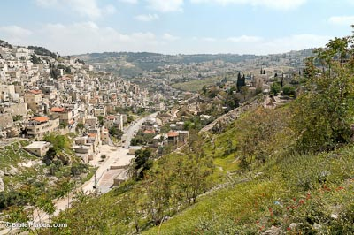City of David and Kidron Valley