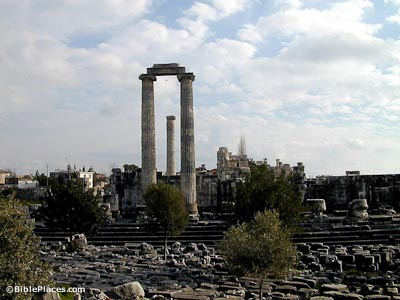 Didyma Temple of Apollo from north