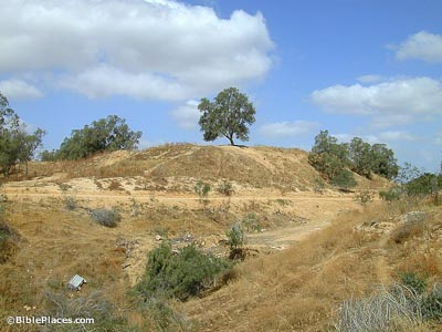 Gerar, Tel Haror, from southeast