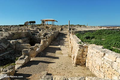 Kourion street near forum