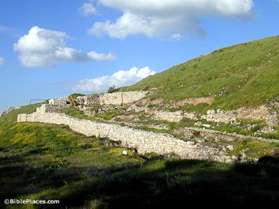 Lachish approach ramp