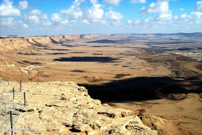 Machtesh Ramon from west