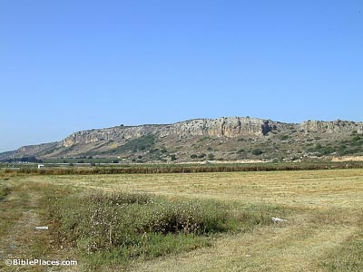 Mount Carmel from the south