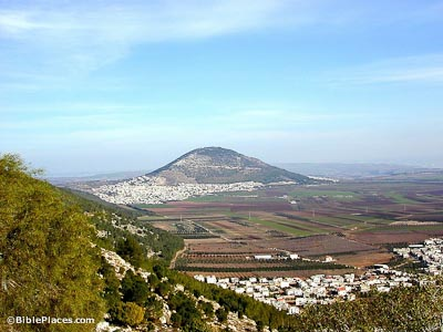 Mount Tabor from Nazareth ridge