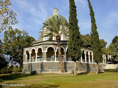 Chapel on Mount of Beatitudes