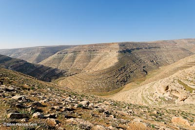 Nahal Arugot in Judean Wilderness
