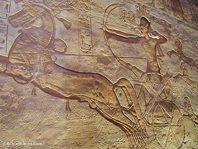 Ramses II on chariot