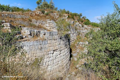 Hellenistic tower at Samaria