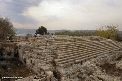 Herodian temple at Samaria