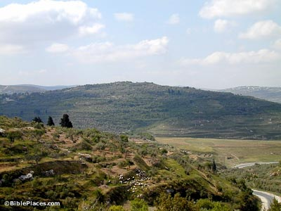 Samaria from north