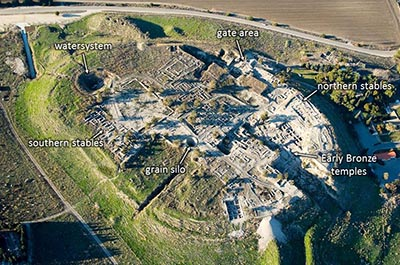 Megiddo aerial from southeast, tb121704999