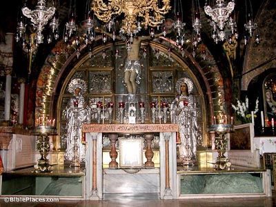 Church of the Holy Sepulcher (BiblePlaces.com)