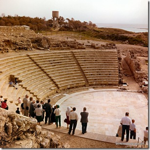 Caesarea theater under restoration, db6603250808