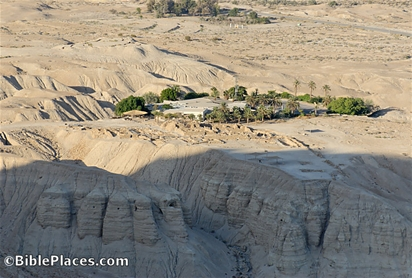 Qumran from southwest