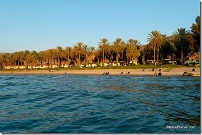 En Gev holiday village from Sea of Galilee, tb101105949ddd