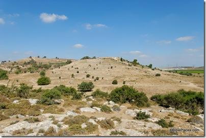 Gath, Tell es-Safi, from east, tb060906175