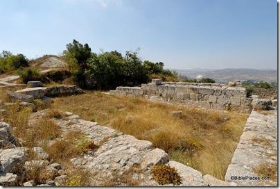 Samaria Herodian temple, tb070507748dxo