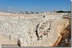 Jerusalem model from southeast, tb091506493