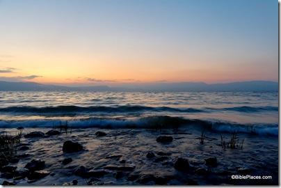 Sea of Galilee at dusk, tb040306012ddd