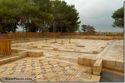 Caesarea Byzantine mansion mosaic, tb011006326