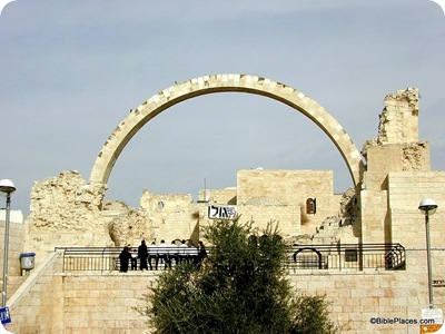 Hurvah Synagogue arch, tb010200207