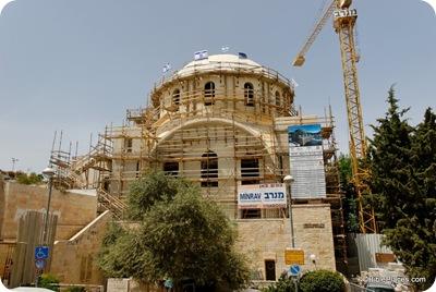 Hurvah synagogue under reconstruction, tb051508004dxo