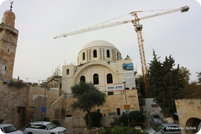 Hurva synagogue in construction, as111808042