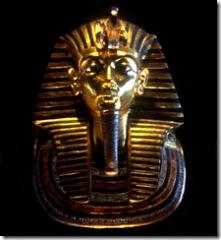 Tutankhamen's mask, 110-16tb