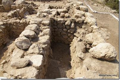 Khirbet Qeiyafa, 10th c casemate wall, ar080731445