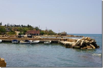 Zarephath Phoenician harbor & tell from E,ar090508617