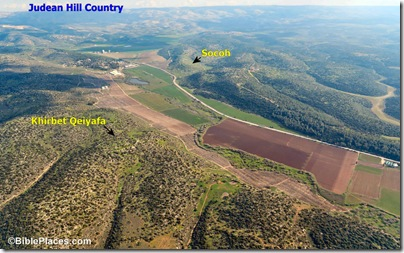 Elah Valley aerial from west, tb011606779 marked