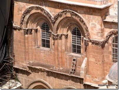 Holy Sepulcher ladder closeup, tb090402202