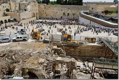 Western Wall plaza excavations, tb051707664