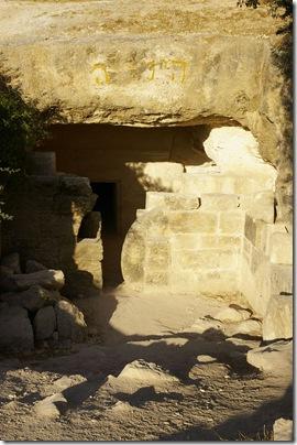 Khirbet Midras rolling stone tomb, ar080714171