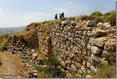 Mizpah Iron Age offset-inset wall, tb051407525