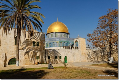 Dome of Rock from southwest, tb122006949dxo2