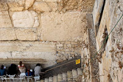 Wall Photo western wall (bibleplaces)