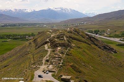 Ararat-Urartu (BiblePlaces com)