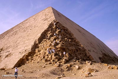 Dashur Pyramids Bibleplaces Com