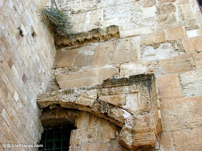 Southern Temple Mount Excavations Bibleplaces Com