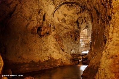 Image result for hezekiah tunnel