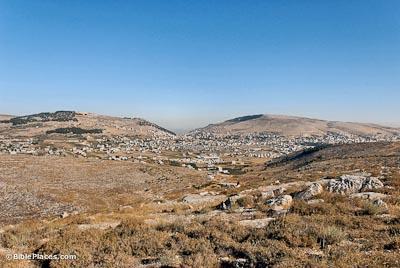 Shechem Bibleplaces Com