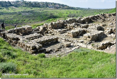 Gezer Solomonic gate from northeast, mjb1902200736