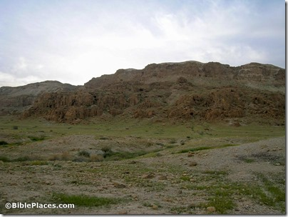 Qumran area of Caves 1 and 2, tb022904796