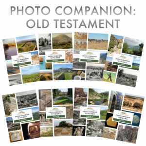 Photo Companion, Old Testament, 8 volumes